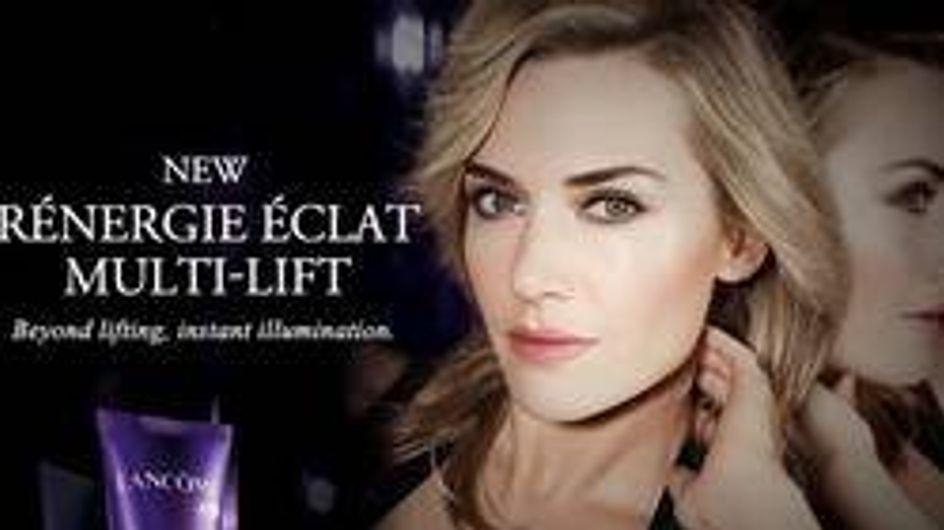 Kate Winslet : Égérie glamour pour Lancôme (Photos)