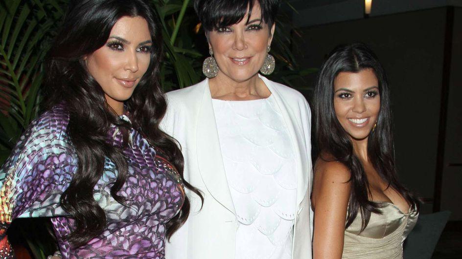 Kim Kardashian : Sa mère nue sur le Net (Photos)