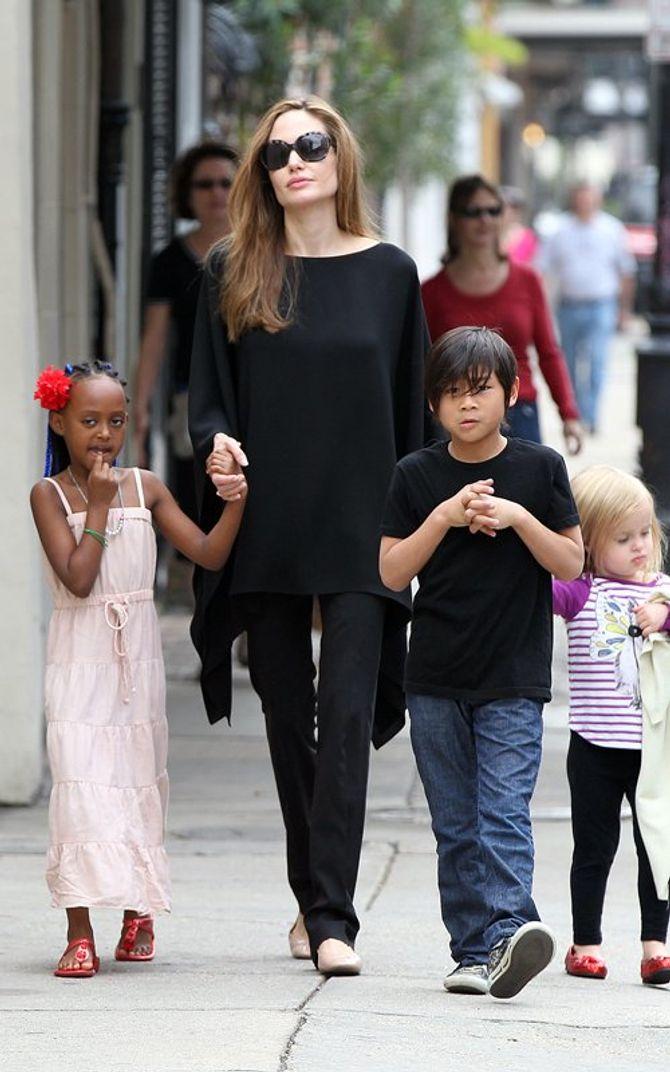 Zahara Jolie Pitt, Gérard Darel