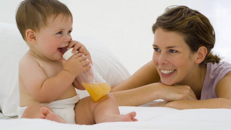 Les bébés nourris à la demande sont plus intelligents