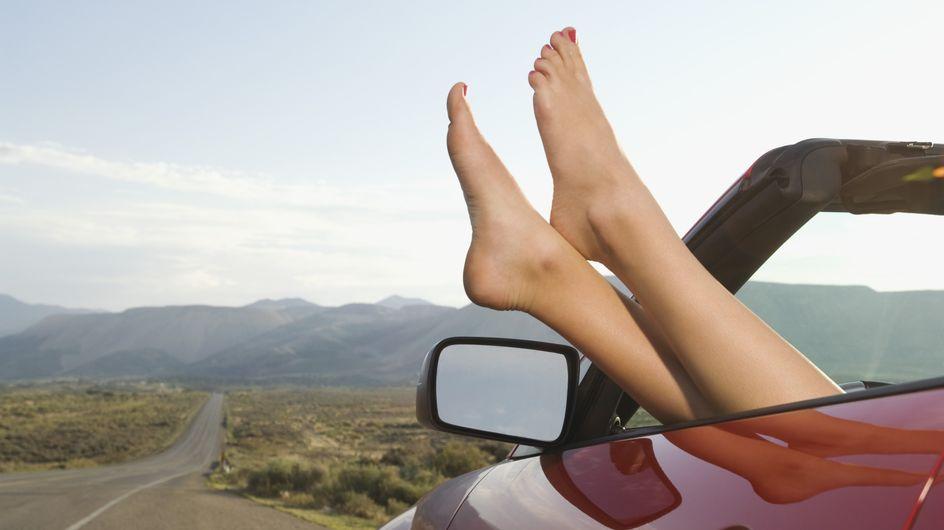 Sécurité routière : Talons au volant, danger au tournant !