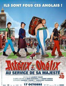 Astérix et Obélix au service de sa majesté affiche
