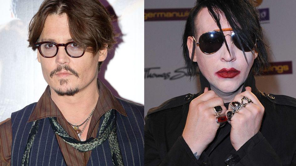 Johnny Depp : Il participe au nouvel album de Marilyn Manson