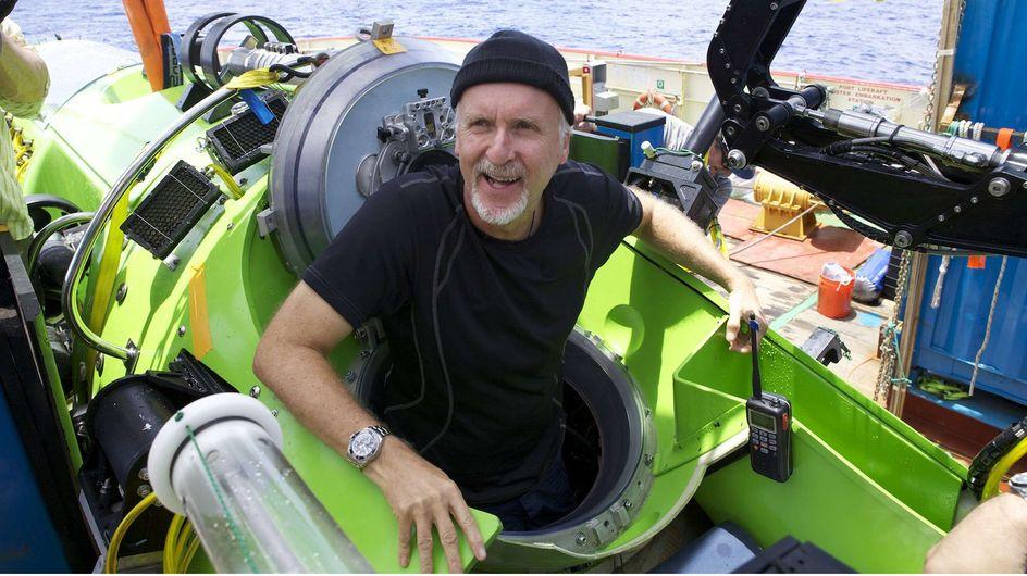 James Cameron : Les images de sa plongée au cœur des abysses (Vidéo)