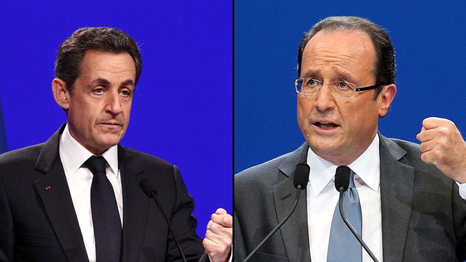 Présidentielle 2012 : Nicolas Sarkozy devant François Hollande au premier tour