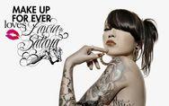 Make Up For Ever, la beauté se tatoue aussi