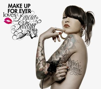 Make Up For Ever, la beauté se tatoue aussi