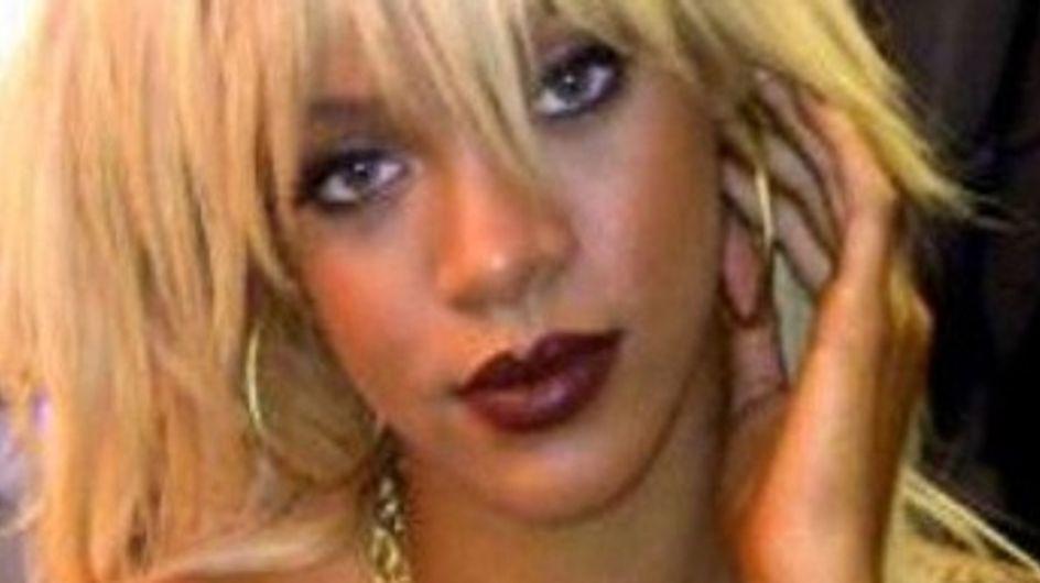 Rihanna : Son look de choc pour la promo de Battleship (Photos)