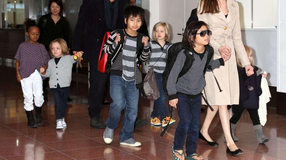 Angelina Jolie : Ses enfants renvoyés de l'école !