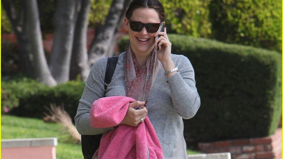 Jennifer Garner : Elle n'a pas perdu ses kilos de grossesse ! (Photos)