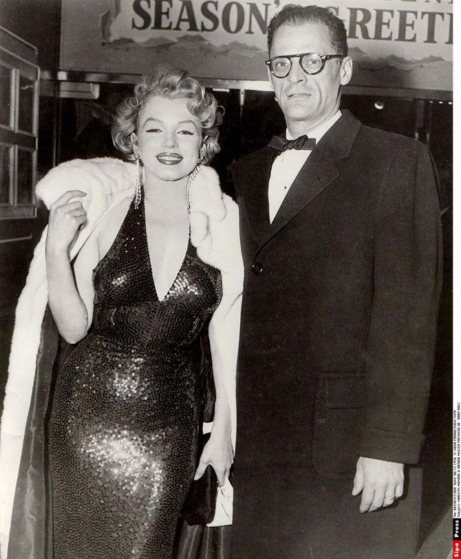 décolleté Marilyn Monroe