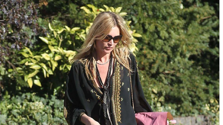 Kate Moss : Elue la fille la plus stylée de la semaine ! (Photos)