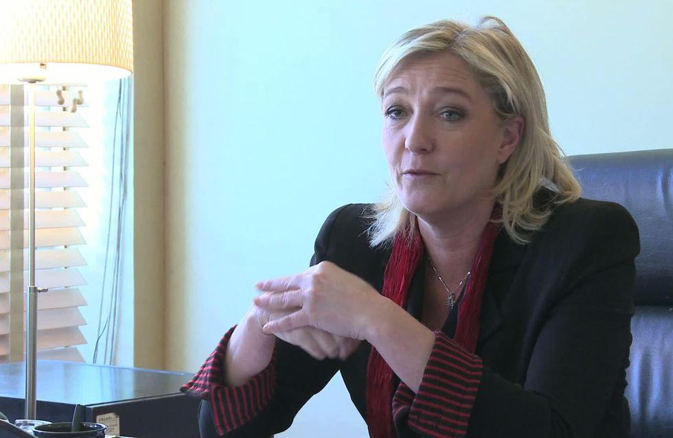 Marine Le Pen : « C'est mon mari qui fait la cuisine ! » (Vidéo)
