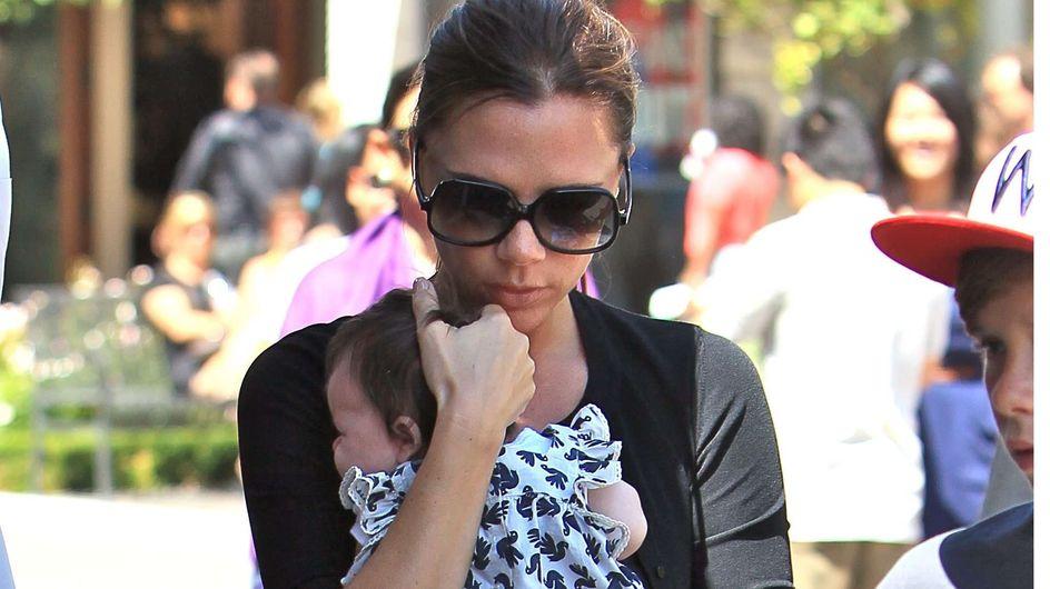 Victoria Beckham : Maman la mieux stylée d'Hollywood ! (Photos)