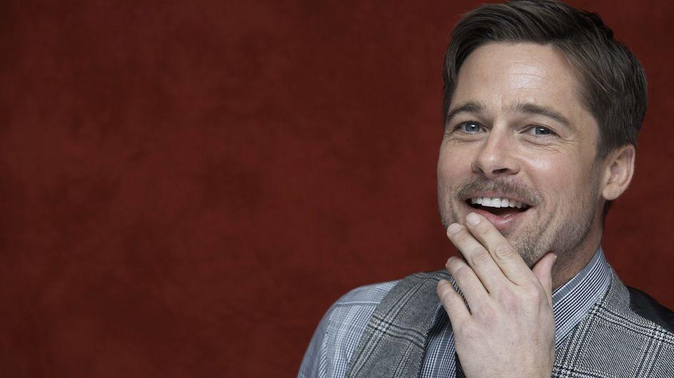 Brad Pitt : Blessé, il se déplace avec une canne