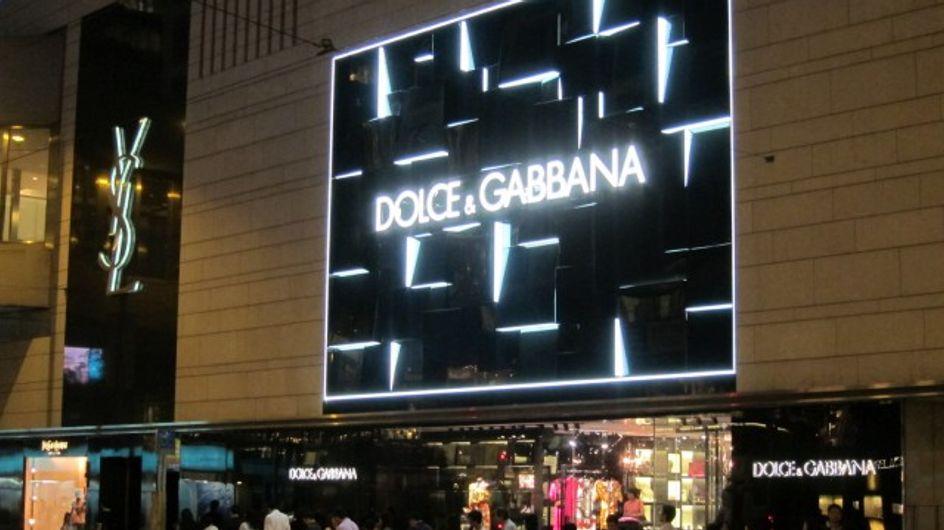 Dolce & Gabbana : Manifestation devant le magasin de Honk Hong