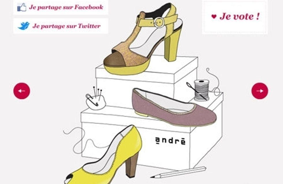 André : Devenez créateur pour la marque via Facebook