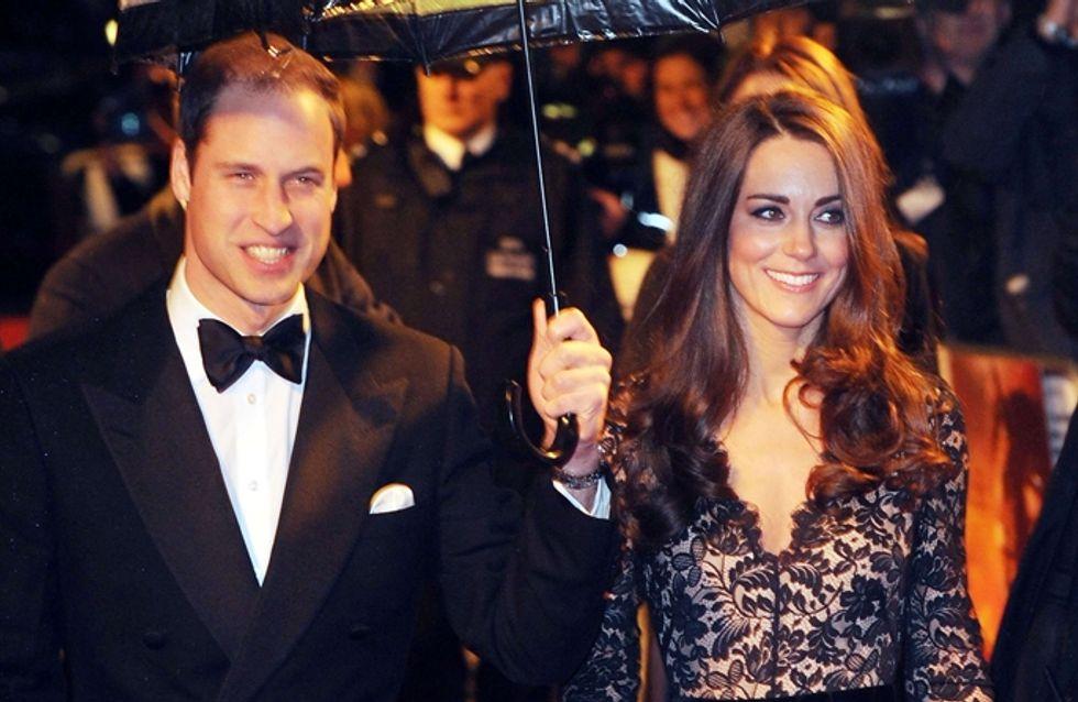 Kate Middleton : Sexy dans sa robe transparente (Photos)