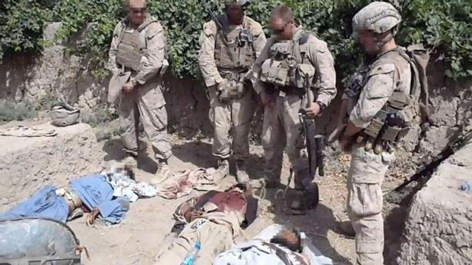 Afghanistan : Des Marines urinent sur les cadavres de talibans