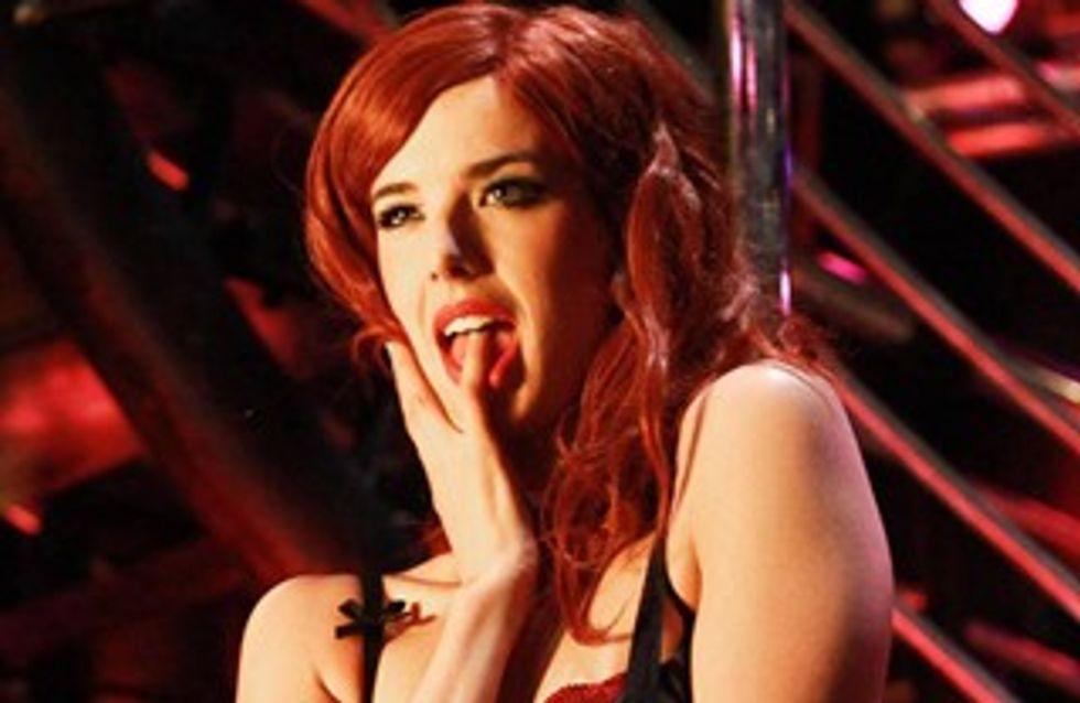 Agyness Deyn : Le top se met au striptease dans Pusher
