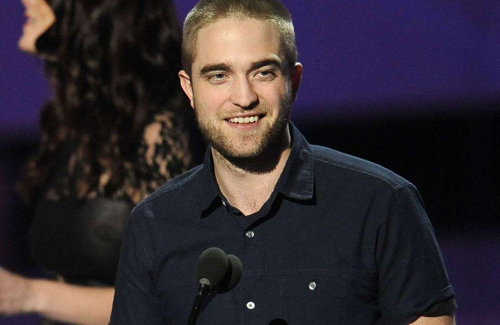 Robert Pattinson : Il s'est rasé la tête !