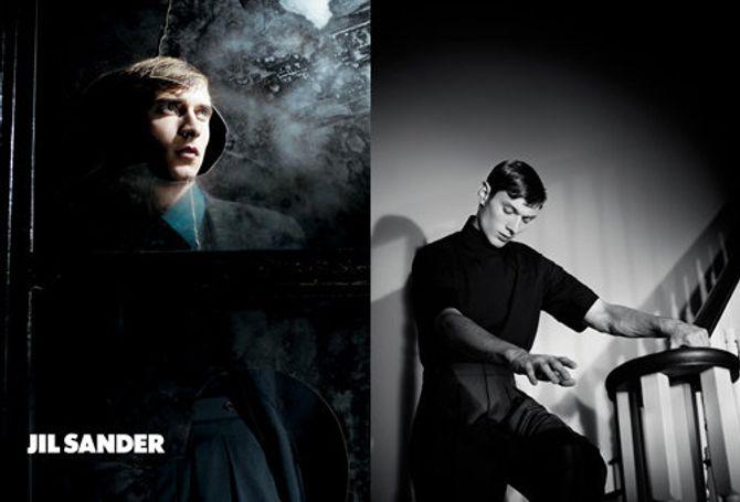 Jil Sander campagne pintemps-été 2012