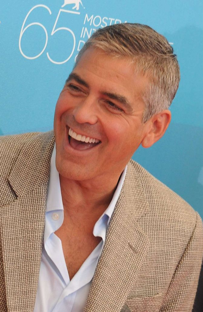 George Clooney sexy