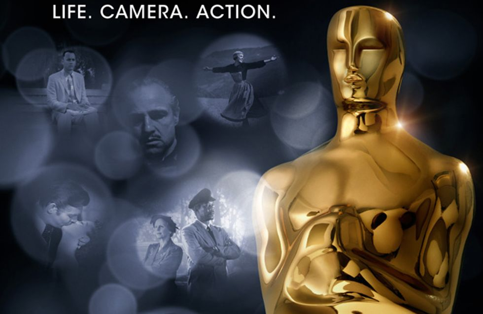 Oscars 2012 : L'affiche officielle dévoilée (Photos)
