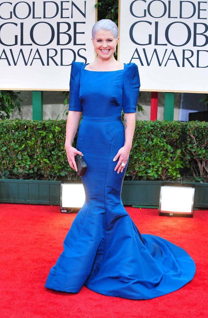 Kelly Osbourne aux Golden Globes 2012