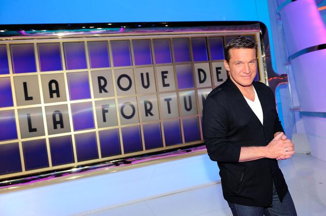 Benjamin Castaldi La roue de la fortune