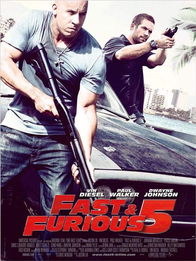 Fast and Furious 5 affiche