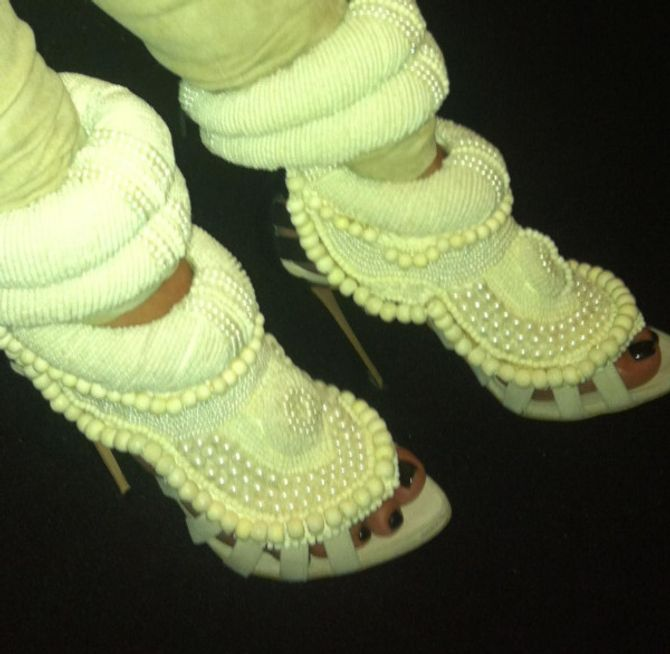 Kim Kardashian chaussures