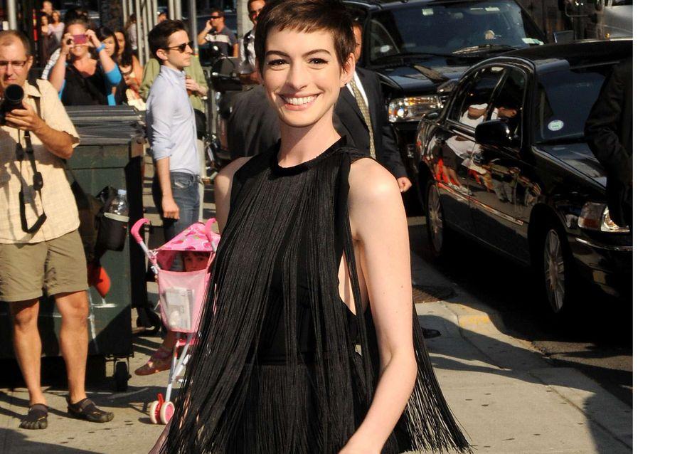 Anne Hathaway : Elle est enceinte !