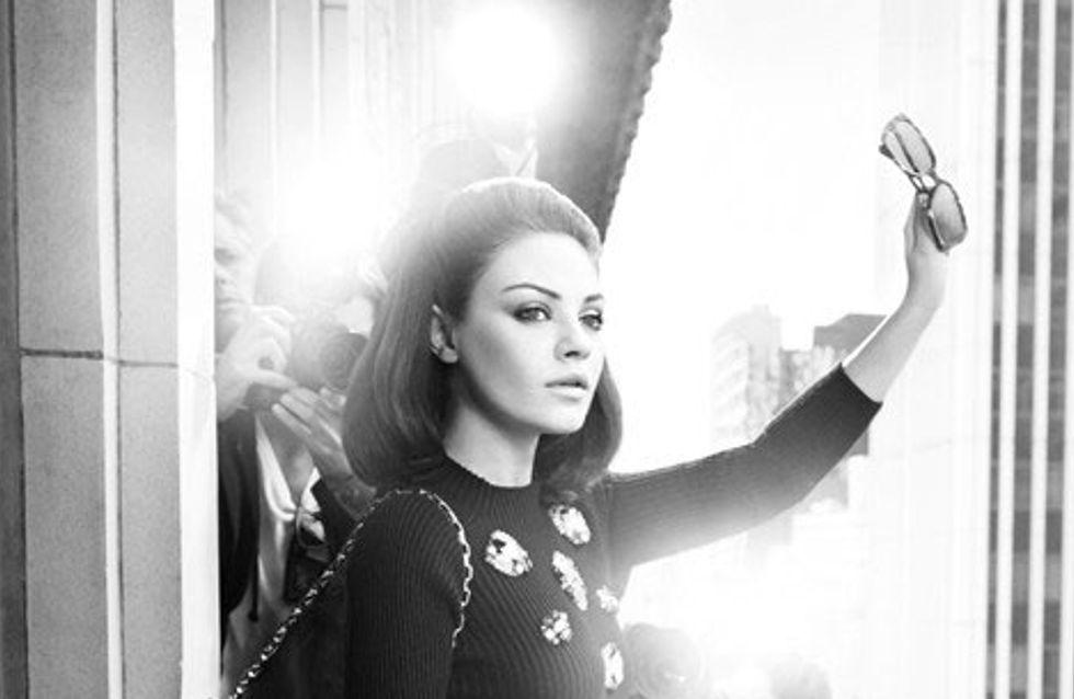 Mila Kunis : Découvrez les nouvelles images de la campagne Dior (Photos)