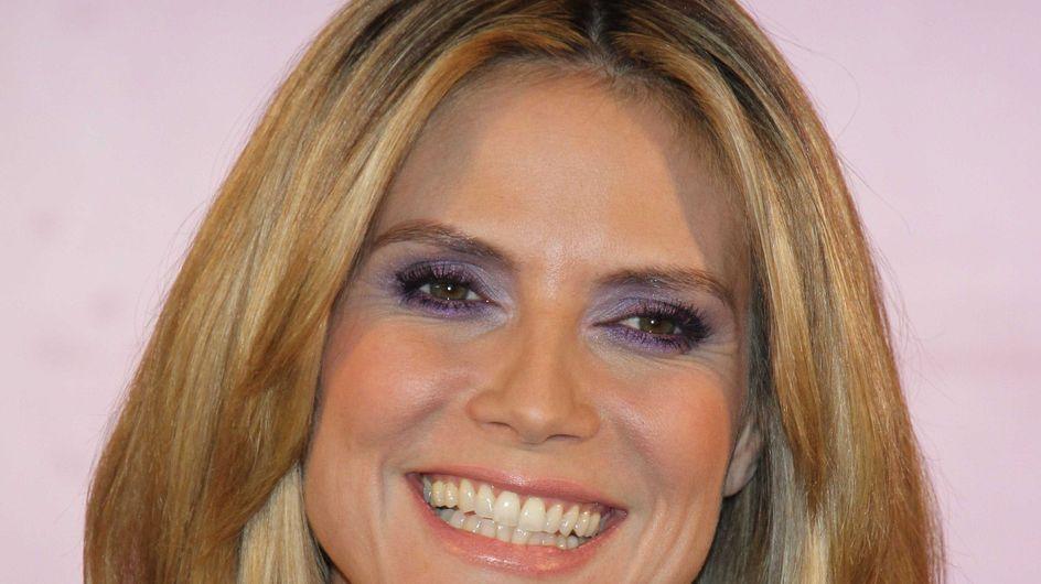 Heidi Klum : Elle maquille ses filles comme elle !