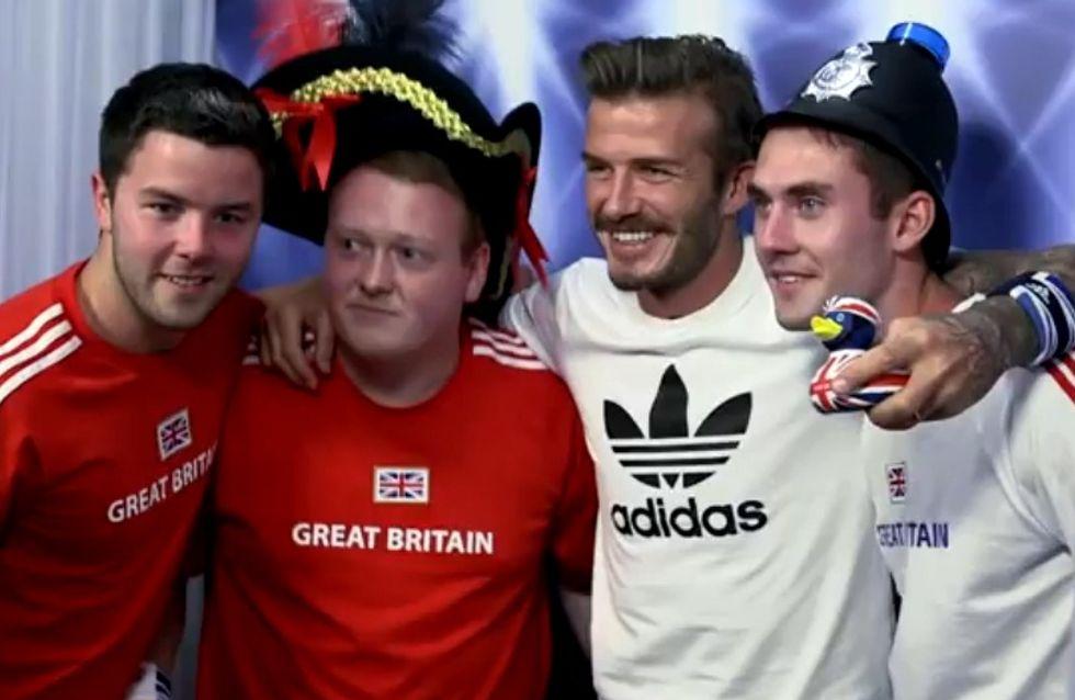 Une séance photomaton avec David Beckham (Vidéo)