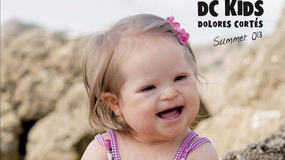 Une petite fille trisomique égérie de mode (Photos)