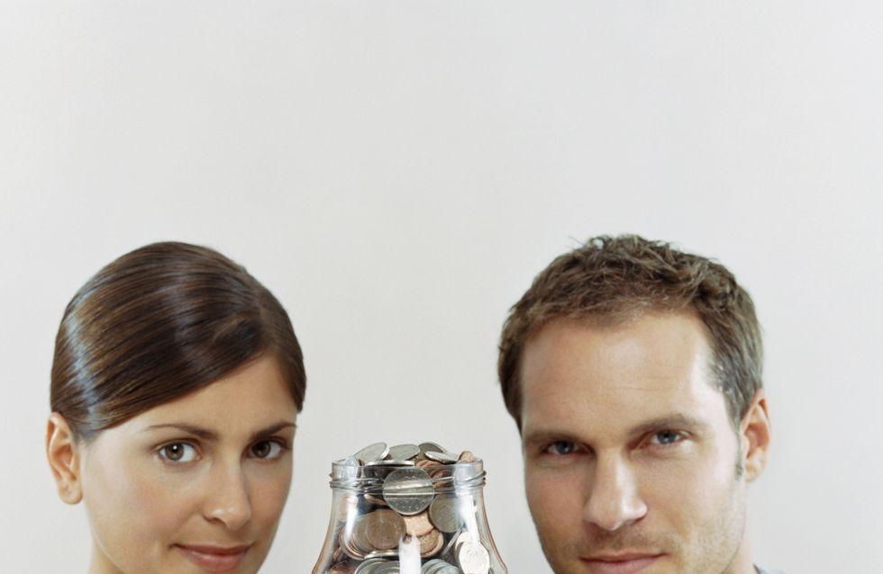 Couple : Plus les conjoints ont de l'argent, moins ils le partagent