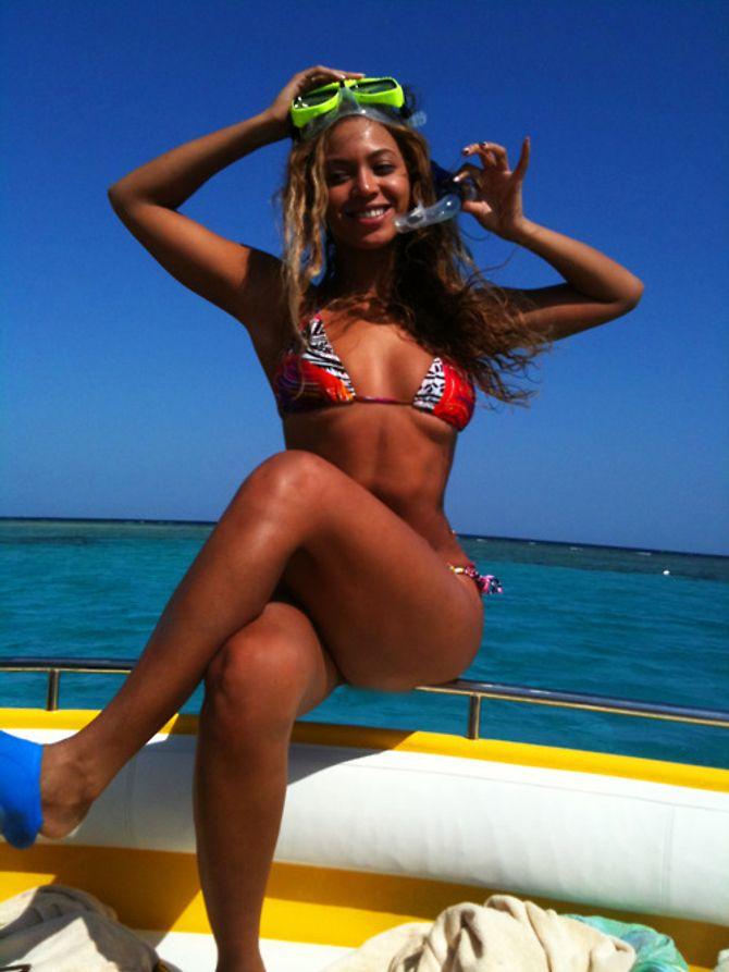 Beyonce, plage, bikini, tumblr