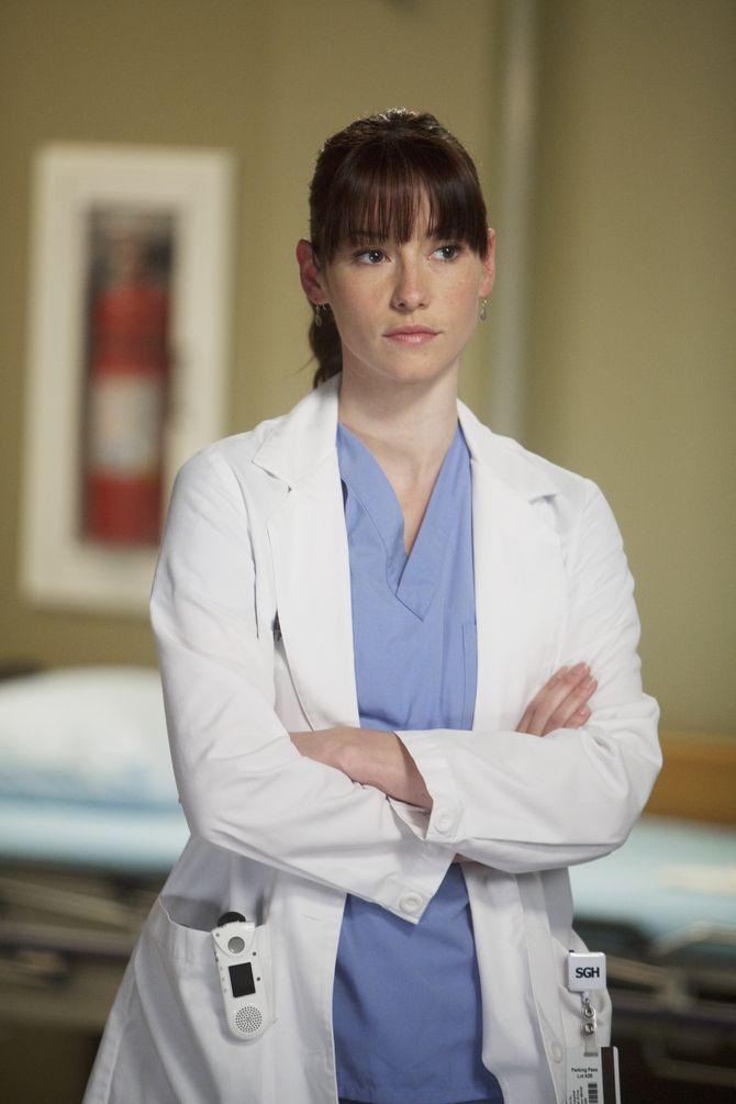 Grey's Anatomy Chyler Leigh départ