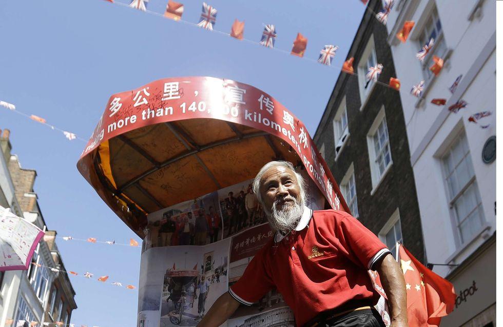 JO 2012 : Un fermier chinois parcourt 60 000 km pour gagner Londres