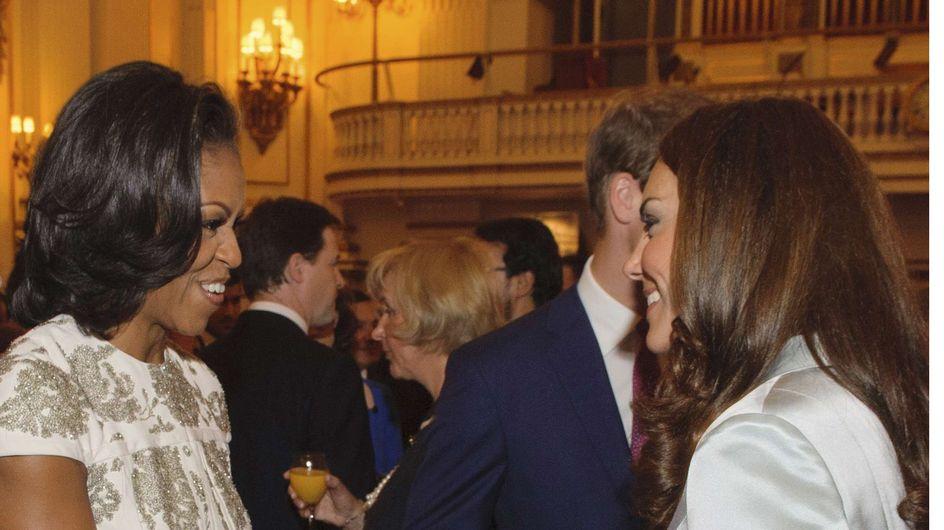 Michelle Obama avec Kate Middleton : Le comble de l'élégance