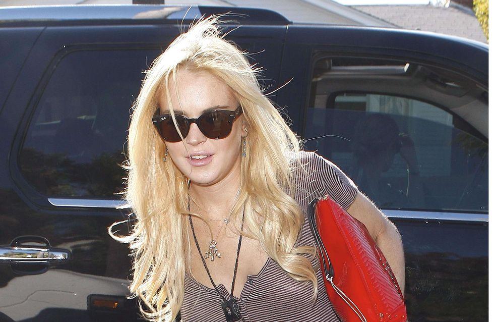 Lindsay Lohan : Toute son équipe priée de se déshabiller