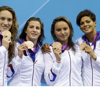 Jeux Olympiques 2012 : Camille Muffat, nouvelle championne de la natation França