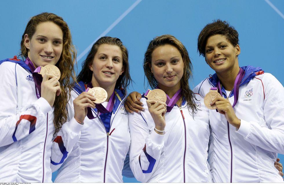 Jeux Olympiques 2012 : Camille Muffat, nouvelle championne de la natation Française