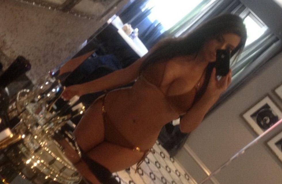 Kim Kardashian : Fière de ses formes ! (Photos)