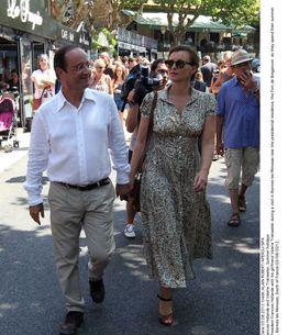 Valérie Trierweiler et François Hollande : Leurs photos à la plage