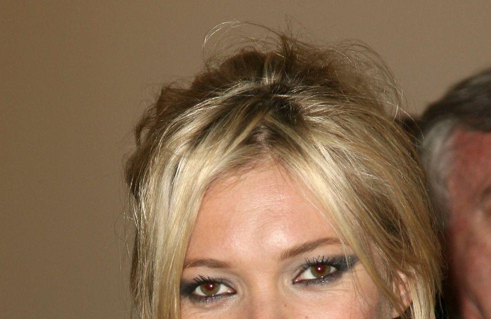 Kate Moss : Vêtue d'or pour Vogue (Photos)