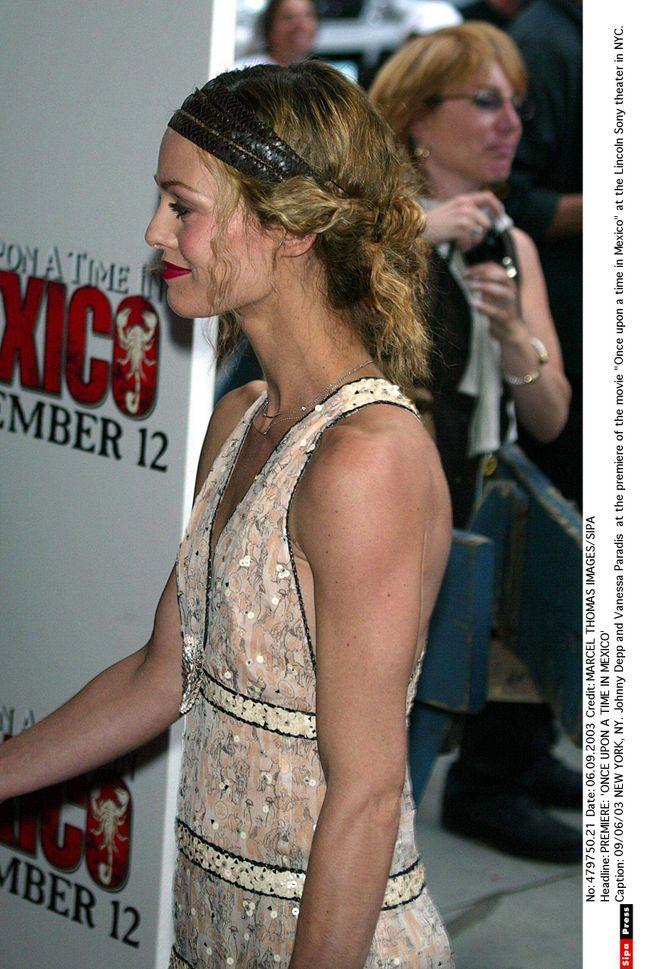 Vanessa Paradis : coiffures