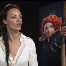 Bérénice Bejo : Rebelle est plus émancipée que les princesses d'antan (Vidéo)